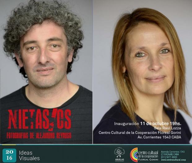 Imagen de Reinauguramos la muestra Nieto/as de Alejandro Reynoso, con 40 retratos, en el 40 aniversario.